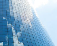 Modern glass skycrapers background Royalty Free Stock Image