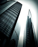 Modern glass skyscraper Royalty Free Stock Images