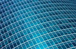 Modern glass skyscraper Stock Photos