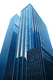 Modern glass skyscrapers Stock Image