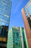 Modern glass skyscrapers Royalty Free Stock Photography
