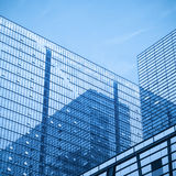 Modern glass skyscrapers Stock Photo