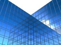 Modern glass skyscrapers Stock Photos