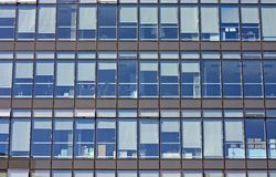 Modern glass skyscrapers Royalty Free Stock Images