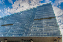 Modern Glass and Steel Apartment Building Royalty Free Stock Images