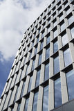 Modern glass and steel high rise building Royalty Free Stock Photos