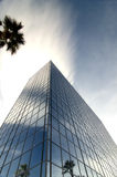 Modern glass and steel office tower Royalty Free Stock Image