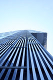 Modern glass and steel skyscraper Royalty Free Stock Images