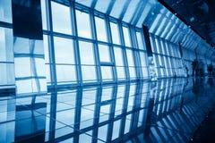 Modern glass viewing platform Stock Photo