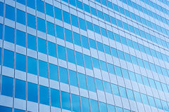 Modern glass wall Royalty Free Stock Photo