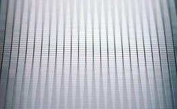 Modern glass wall decor, closeup Stock Image