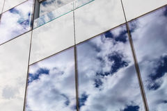 Modern glass window on building. Stock Images