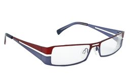 Modern glasses on white Stock Photography
