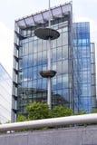 Modern glazed office buildings in London, business center, London, United Kingdom. LONDON, UNITED KINGDOM - JUNE 22, 2017: Modern glazed office buildings in Stock Photo