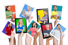 Modern Global Communication Digital Device Royalty Free Stock Images