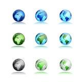 Modern globe Royalty Free Stock Image