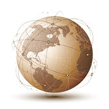 Modern globe Stock Photography