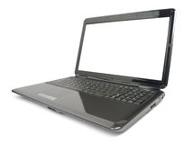 Modern Glossy Laptop Royalty Free Stock Photos