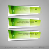 Modern Glossy Vector Banners Royalty Free Stock Photography