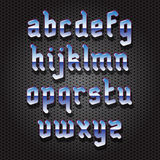 Modern Gothic Font Stock Photo