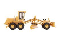 Modern grader isolated Royalty Free Stock Image