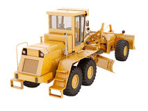 Modern grader isolated Stock Photo