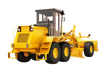 Modern grader isolated Royalty Free Stock Images