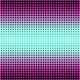 Modern gradient pink to neon blue background with dots in 80s 90s style Royalty Free Stock Images