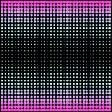 Modern gradient pink to neon blue background with dots in 80s 90s style Stock Photo