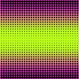 Modern gradient pink to neon green background with dots in 80s 90s style Royalty Free Stock Photos