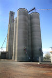 Modern Grain Elevator Royalty Free Stock Images