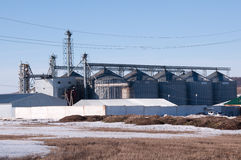 Modern granary in Russia Stock Image