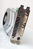 Modern graphic adapter Royalty Free Stock Photo