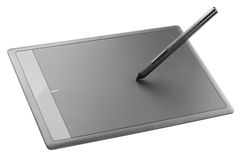Modern graphic tablet Stock Photography