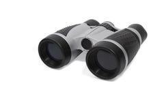 Modern gray-black binoculars Royalty Free Stock Photography