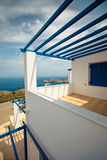 Modern Greek House Royalty Free Stock Photography
