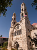 Modern Greek Orthodox convent in at Nablus in the West Bank, Isr Royalty Free Stock Photo