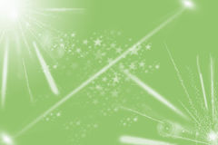 Modern green abstract light Stock Photography