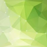Modern green abstract light background Stock Photos