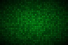 Modern green abstract vector background with transparent squares Royalty Free Stock Images