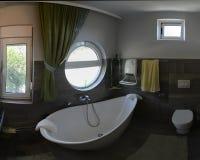 Modern green bathroom Royalty Free Stock Photography