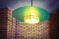 Modern green lamp Stock Photo