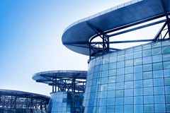 Modern Greenhouse Buildings Stock Photo