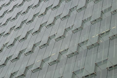 Modern grey glass facade Stock Photo