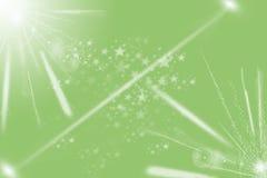 Modern groen abstract licht Stock Fotografie