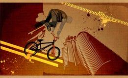 Modern grunge stedelijk grafisch ontwerp Stock Fotografie