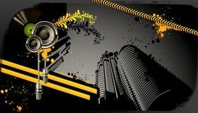 Modern grunge urban graphic design Stock Photo