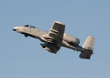 Modern gunship fighter jet Royalty Free Stock Photo