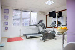 Modern gym in center Stock Photography