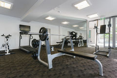 Modern gym Stock Photos